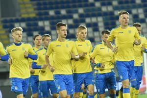Футболисты национальной сборной поздравили Украину с Днем Независимости