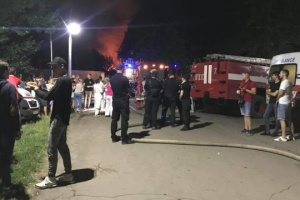 Fire at Odesa psychiatric hospital kills six