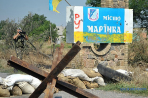 Оккупанты стреляли из гранатомета возле Марьинки