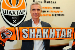 Shakhtar Donetsk signs contract with new coach
