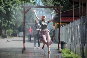У парках і скверах Києва встановлюють охолоджувальні рамки