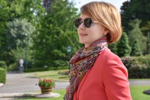 Olena Zerkal, vice-ministre des Affaires étrangères de l'Ukraine, chargée de l'intégration européenne