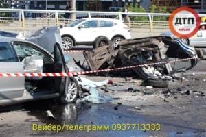 Vier Tote bei schwerem Unfall in Kyjiw – Fotos, Video