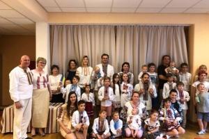 Украинская группа развития ребенка «Веселка» из Берлина провела благотворительный концерт