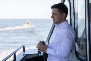 Зеленский ознакомился с работой морской охраны в Азовском море
