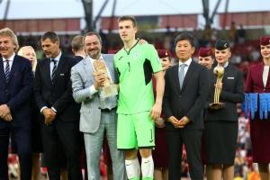 Українець Лунін – кращий воротар ЧС U-20