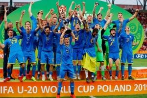Президент поздравил юниорскую сборную с победой на чемпионате мира по футболу