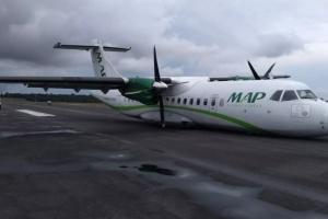 В Бразилии пассажирский самолет совершил аварийную посадку, есть раненые