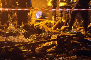 Поліція назвала ймовірні причини вибуху в центрі Києва