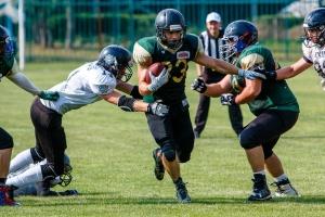 Американський футбол: Ужгородські Лісоруби розгромили Київських Слов'ян