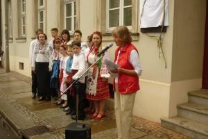 У Лейпцігу з'явилася пам'ятна дошка українському композитору Лисенку