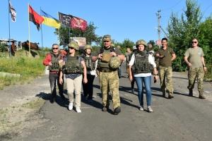 Делегація Литви відвідала район ООС