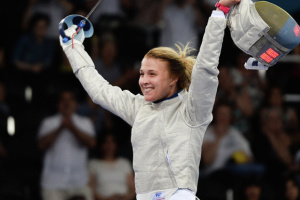 フェンシング女子、ウクライナのハルラン選手が優勝 世界選手権
