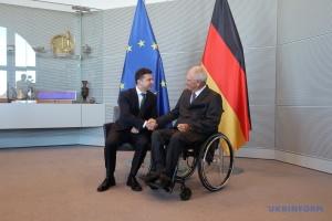 Le président du Bundestag et le président ukrainien se rencontrent à Berlin (photos)