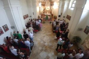 У Братиславі на Трійцю відправили Службу Божу українською мовою
