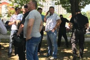 Біля пам'ятника Жукову у Харкові облили зеленкою проросійського ексдепутата