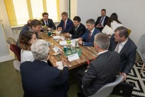 Зеленський нагадав німецьким політикам про полонених моряків у РФ
