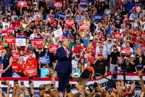 Трамп официально начал предвыборную кампанию
