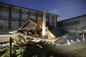 В Японии произошло сильное землетрясение, 26 пострадавших