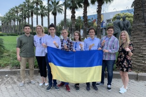 Украинские школьники завоевали 5 наград на международном научном конкурсе