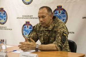 Командувач ООС та делегація ОБСЄ обговорили двостороннє припинення вогню