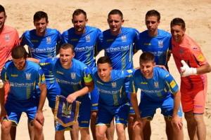 Пляжный футбол: 12 украинцев готовятся ко II Европейским играм