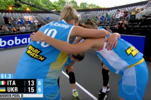 Женская сборная Украины по баскетболу 3х3 уступила во второй подряд игре чемпионата мира