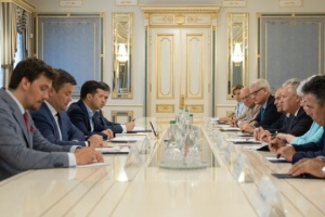 Zelensky meets with YES Supervisory Board members