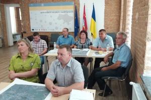 Представителей ОТГ Житомирщины учили пространственному планированию