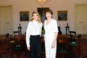 Зеленская предложила провести год украинской культуры в Германии