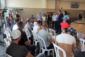 Українські фахівці прибули до Ізраїлю в рамках Угоди про тимчасове працевлаштування
