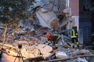 В Италии рухнул жилой дом, есть погибшие