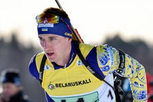 Украинский биатлонист Пидручный сообщил о проблемах с коленом