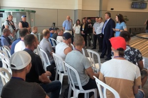 Ukrainian specialists arrive in Israel within framework of temporary employment agreement. Photos
