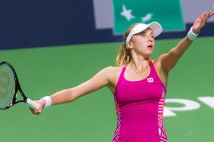 Людмила Кіченок знялася з парного чвертьфіналу турниру WTA у Бірмінгемі