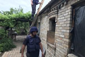 В Донецкой области отремонтировали 226 домов, поврежденных обстрелами оккупантов
