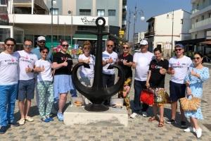 Українці відкрили на кіпрській набережній туристичний символ Одеси