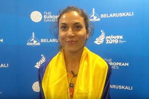 Чемпіонка Євроігор-2019 Ляхова порівняла змагання в Мінську з Олімпіадою