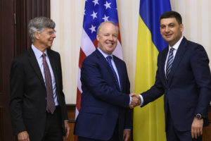 Groysman, U.S. representatives discuss cooperation in energy sector