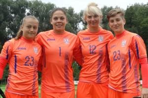 Жіночий футбол: 16 воротарів збірних України проведуть НТЗ у Щасливому