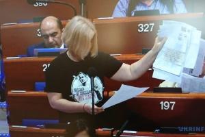 Ирина Геращенко: Возвращение России в ПАСЕ разрушает принципы Европы