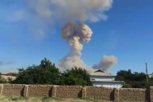 От взрывов на арсенале в Казахстане погиб человек