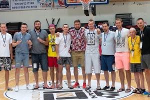 """Львівські баскетболісти вибороли """"золото"""" і """"бронзу"""" на Friendship games в Ізраїлі"""