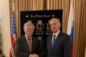 Болтон обговорив українське питання з секретарем Радбезу РФ