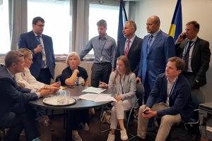 Delegación ucraniana suspende participación en la APCE