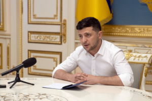 Zelensky dismisses Stefanchuk as his adviser