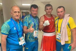 Український боксер Хижняк пробився до 1/2 фіналу Євроігор-2019