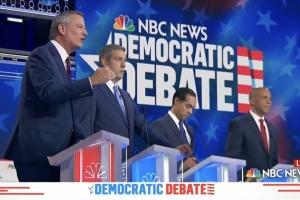 Мер Нью-Йорка під час дебатів назвав РФ найбільшою загрозою для Штатів