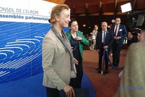 Новый генсек Совета Европы начала работу