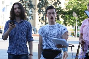 У Харкові на флешмобі студенти-хористи виконали твори Сковороди і Леонтовича
